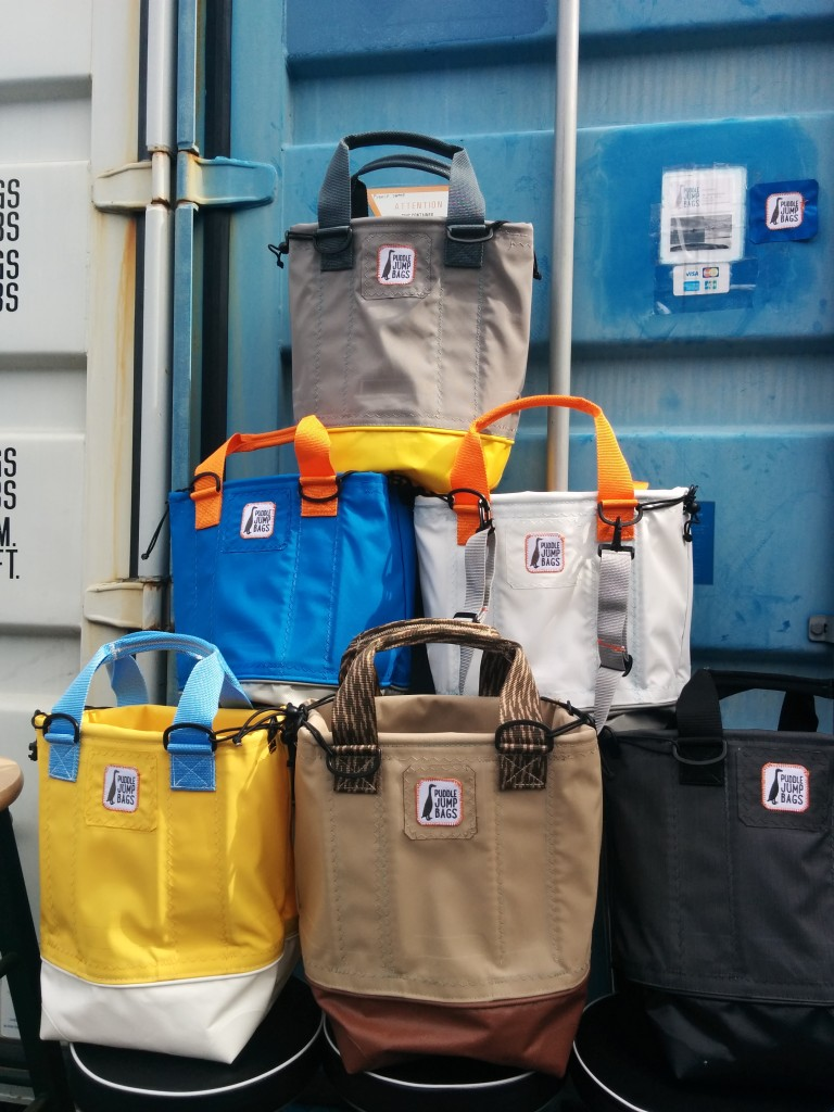 The Original Tote by Puddle Jump Bags, Multimodal transit.